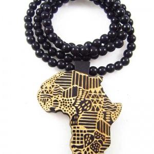 """שרשרת חרוזים """"אפריקה"""" במגוון צבעים"""