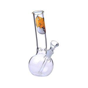 """באנג זכוכית מבחנה נשלפת 14 מ""""מ דגם פיקאצ'ו"""