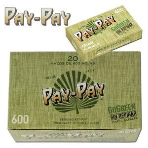 נייר גלגול PAY PAY מדיום 600 פאקט