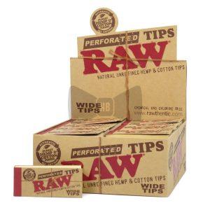 RAW פילטרים רחבים נתלשים – פאקט 50 יחידות