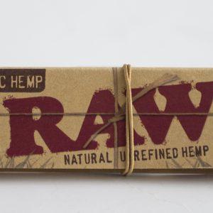 ניירות גלגול RAW קינג סייז אורגני – פאקט 24 יחידות