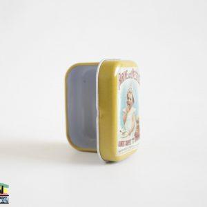 קופסת אחסון קטנה ממתכת – 2 יחידות