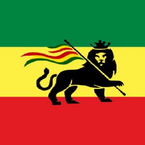 דגל ראסטפאריי גדול