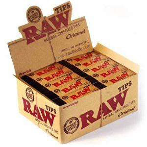 RAW פילטרים נתלשים – פאקט 50 יחידות
