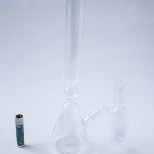 ארלנמייר באנג זכוכית (מקטרת מים) משולש