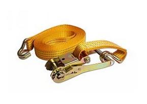 """רצועת קשירה רצ'ט 5 מטר למשקל עד 1500 ק""""ג"""