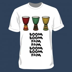 חולצה קצרה דגם BOOM PAM