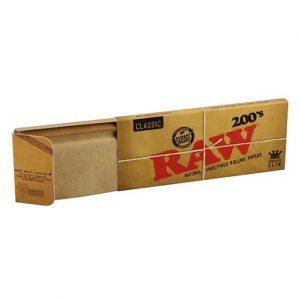 200 ניירות RAW בגודל קינג סייז