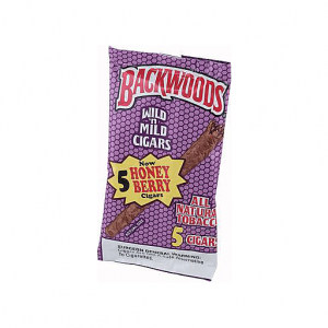 בווקדס בטעם אוכמניות – BACKWOODS HONEY BERRY