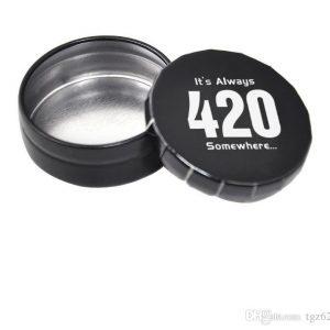 קופסת אחסון עגולה 420