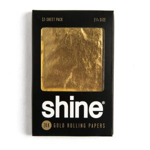 נייר גלגול קינג סייז – 24K GOLD