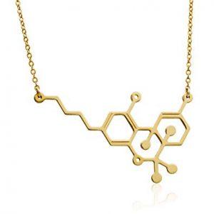 שרשרת מולקולה THC