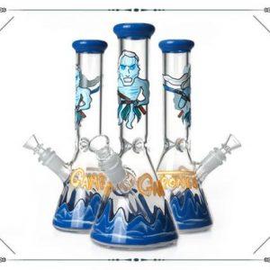 """באנג זכוכית (מקטרת מים) משחקי הכס עם ראש נשלף 14 מ""""מ + ראש נוסף מתנה"""