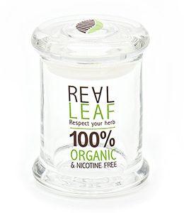 צנצנת זכוכית אטומה REAL LEAF